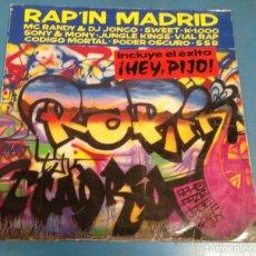 Discos de vinilo: LP DISCO VINILO RAP IN MADRID. Lote 111599111