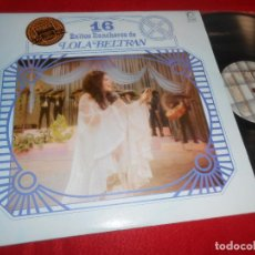 Disques de vinyle: LOLA BELTRAN 16 EXITOS RANCHEROS LP 1983 PEERLESS MEXICO. Lote 111599999