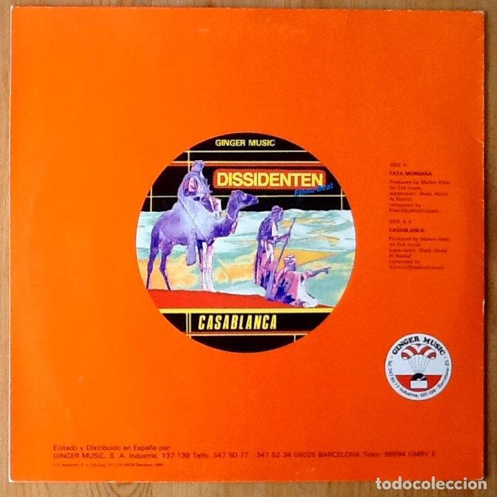 Discos de vinilo: DISSIDENTEN : FATA MORGANA [ESP 1985] - Foto 2 - 111606351