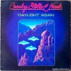 Discos de vinilo: CROSBY STILLS & NASH : DAYLIGHT AGAIN [ESP 1982] LP. Lote 111609319