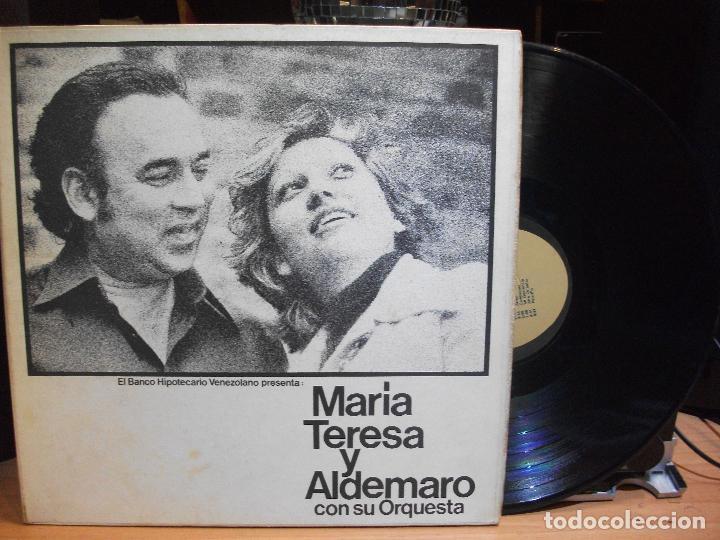 MARIA TERESA Y ALDEMARO CON SU ORQUESTA 1976 LP VENEZUELA PEPETO (Música - Discos - LP Vinilo - Grupos y Solistas de latinoamérica)