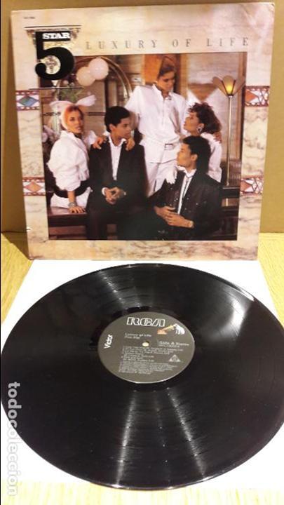 FIVE STAR / LUXURY OF LIFE / LP / RCA-VICTOR - 1985 / MUY BUENA CALIDAD. ***/*** (Música - Discos - LP Vinilo - Funk, Soul y Black Music)