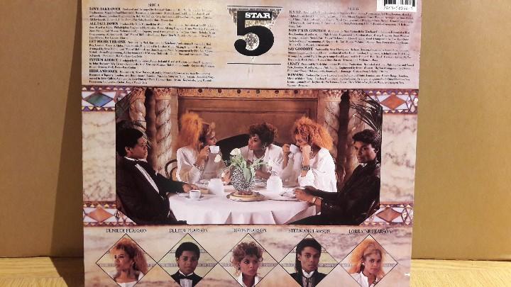 Discos de vinilo: FIVE STAR / LUXURY OF LIFE / LP / RCA-VICTOR - 1985 / MUY BUENA CALIDAD. ***/*** - Foto 2 - 111625423