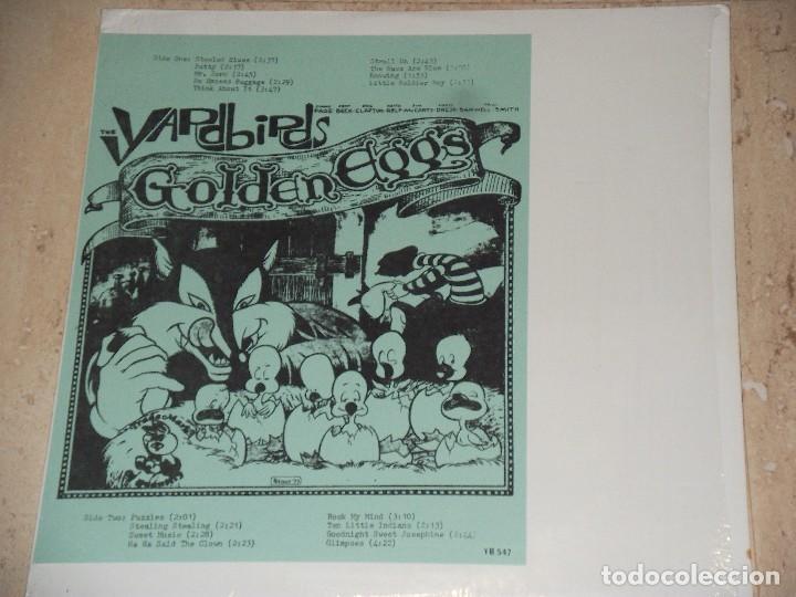 THE YARDBIRDS –GOLDEN EGGS-LP, UNOFFICIAL RELEASE -1973-VERY RARE!!!-PARA COLECCIONISTAS (Música - Discos - LP Vinilo - Pop - Rock - Extranjero de los 70)