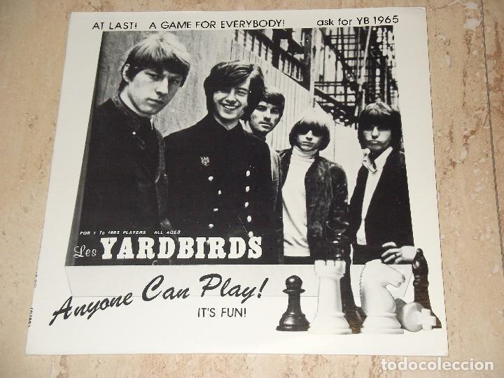 THE YARDBIRDS – ANYONE CAN PLAY! IT'S FUN!- LP, UNOFFICIAL SUPER RARE RELEASE GERMANY-1971 RUTHLESS (Música - Discos - LP Vinilo - Pop - Rock - Extranjero de los 70)