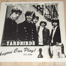 Discos de vinilo: THE YARDBIRDS – ANYONE CAN PLAY! IT'S FUN!- LP, UNOFFICIAL SUPER RARE RELEASE GERMANY-1971 RUTHLESS. Lote 111630223