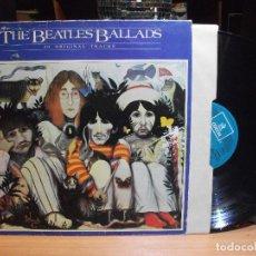 Discos de vinilo: THE BEATLES THE BEATLES BALLADS LP SPAIN 1980 PDELUXE. Lote 196174300