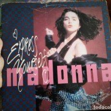 Discos de vinilo: LP MADONNA EXPRESS YOURSELF. Lote 111635951