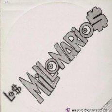 Discos de vinilo: LOS MILLONARIOS – MIAMI / LA RODILLA / MUÑEKAS DE VALLEKAS / SOGUETO - MAXI-SINGLE PROMO ZAFIRO 1989. Lote 111637279