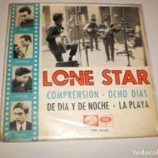 Discos de vinilo: SINGLE LONE STAR. COMPRENSIÓN + 3 TEMAS. EMI ODEÓN 1965. DISCO PROBADO Y BIEN. Lote 111640239