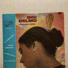 Discos de vinilo: SINGLE DE GIGI DELMO AÑOS 60. Lote 111641223