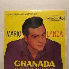 Discos de vinilo: SINGLE DE MARIO LANZA AÑOS 60. Lote 111641739