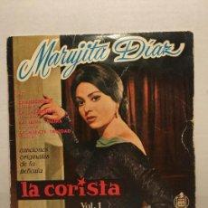 Discos de vinilo: SINGLE DE MARUJITA DIAZ AÑOS 60. Lote 111642011