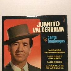 Discos de vinilo: SINGLE DE JUANITO VALDERRAMA AÑOS 69. Lote 111642231