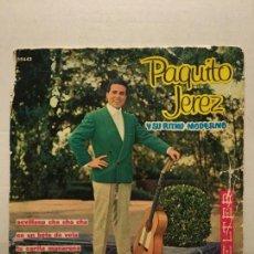 Discos de vinilo: SINGLE DE PAQUITO JEREZ AÑOS 60. Lote 111642271