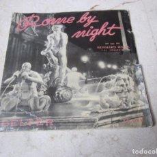 Discos de vinilo: BERNARD HILDA Y SU ORQUESTA - ROME BY NIGHT - BELTER 1957. Lote 111648439