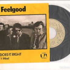 Discos de vinilo: DR. FEELGOOD SHE DOES IT RIGHT UNITED ARTISTS RECORDS 1975. Lote 111653407