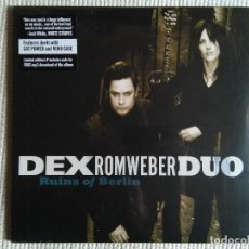 Discos de vinilo: DEX ROMWEBER DUO - '' RUINS OF BERLIN '' LP USA 2009 LIMITED 1000 SEALED. Lote 111665387