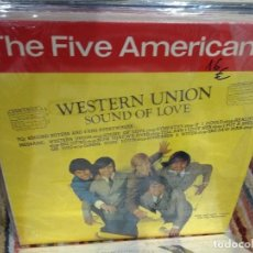 Dischi in vinile: LP THE FIVE AMERICANS WESTER UNIÓN FRANCIA EVA RECORDS EX. Lote 111673831