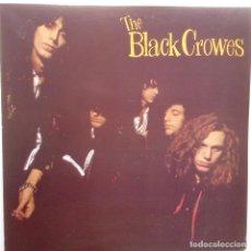 Discos de vinilo: THE BLACK CROWES - SHAKE YOUR MONEY MAKER- SPAIN LP 1991+ INSERT- VINILO EXC. ESTADO.. Lote 111687047