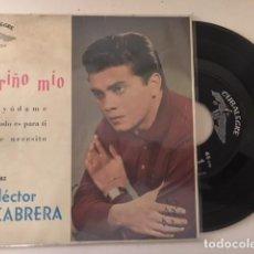 Discos de vinilo: HECTOR CABRERA ?– CARIÑO MIO + 3 / EP CUBALEGRE CEP-1204 - 1962. Lote 111693555