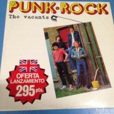Discos de vinilo: LP DISCO VINILO PUNK ROCK THE VACANTS. Lote 117708124