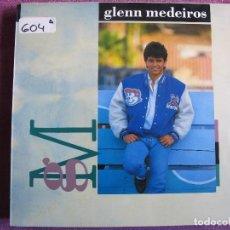 Disques de vinyle: LP - GLENN MEDEIROS - G M (SPAIN, MERCURY RECORDS 1987). Lote 111700131