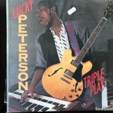 Discos de vinilo: TRIPLE PLAY. LUCKY PETERSON. Lote 111700827