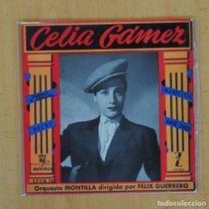 Discos de vinilo: CELIA GAMEZ - TABACO Y CERILLAS + 3 - EP. Lote 111703391