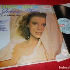 Disques de vinyle: JOHNNY ALBINO Y SU TRIO SAN JUAN EPOCA DE ORO LP 1978 ECO MEXICO SEXY NUDE COVER. Lote 111723399