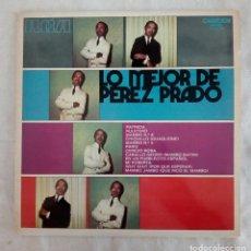 Discos de vinilo: LO MEJOR DE PÉREZ PRADO - LP VINILO - RCA 1971.. Lote 111723803