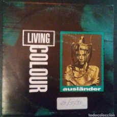Discos de vinilo: VENDO SINGLE DE LIVING COLOUR, AÑO 1993 (MAS INFORMACIÓN EN 2ª FOTO EN EL INTERIOR).. Lote 111729555