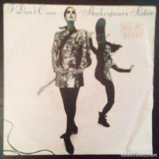 Discos de vinilo: VENDO SINGLE DE SHAKESPEARS SISTER, AÑO 1992 (MAS INFORMACIÓN EN 2ª FOTO EN EL INTERIOR).. Lote 111731459