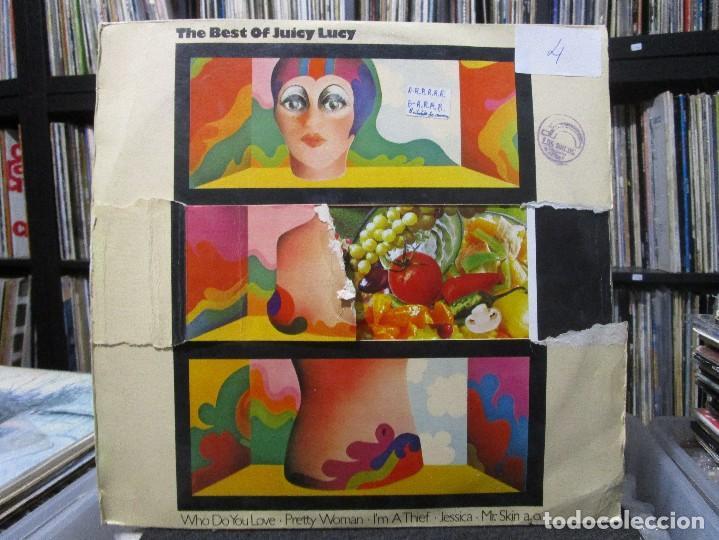 JUICY LUCY - THE BEST OF JUICY LUCY LP 1974 SPAIN ( PORTADA ROTO ) (Música - Discos - LP Vinilo - Pop - Rock - Extranjero de los 70)