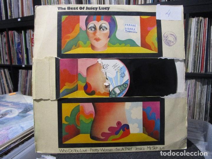 Discos de vinilo: Juicy Lucy - The Best Of Juicy Lucy LP 1974 SPAIN ( PORTADA ROTO ) - Foto 2 - 111751791
