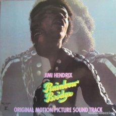 Discos de vinilo: JIMI HENDRIX: RAINBOW BRIDGE. Lote 111758759