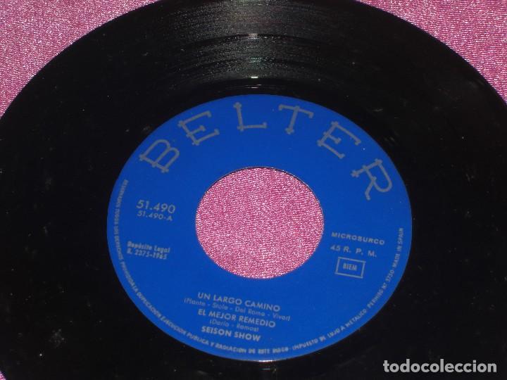 Discos de vinilo: SEISON SHOW ES LARGO EL CAMINO EL MEJOR REMEDIO HACELO CONMIGO HACIA EL MAR 1965 - Foto 4 - 111761383