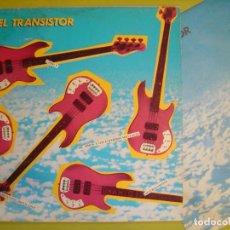 Discos de vinilo: LP PROMOCIONAL 1983 - VARIOS - EN EL TRANSISTOR - PRESUNTOS IMPLICADOS - RNE - CON ENCARTE. Lote 111764739
