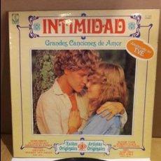 Discos de vinilo: INTIMIDAD / GRANDES CANCIONES DE AMOR / VV.AA. / LP / 1979 / MBC. ***/***. Lote 111776659