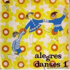 Discos de vinilo: ALEGRES DANSES 1. ORQUESTA HENRY VEYSSEYRE. ED. CATALANA 1969 + LIBRETO CON GRAFICOS DE LOS BAILES . Lote 111779555