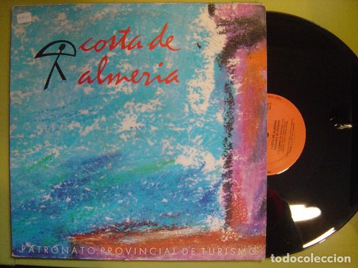 LUIS EMILIO MAYOL CON JOSE FERNANDEZ Y FRANKLIN - COSTA DE ALMERIA - MAXI 1988 CON ENCARTE- CHUMBERA (Música - Discos - LP Vinilo - Grupos Españoles de los 90 a la actualidad)
