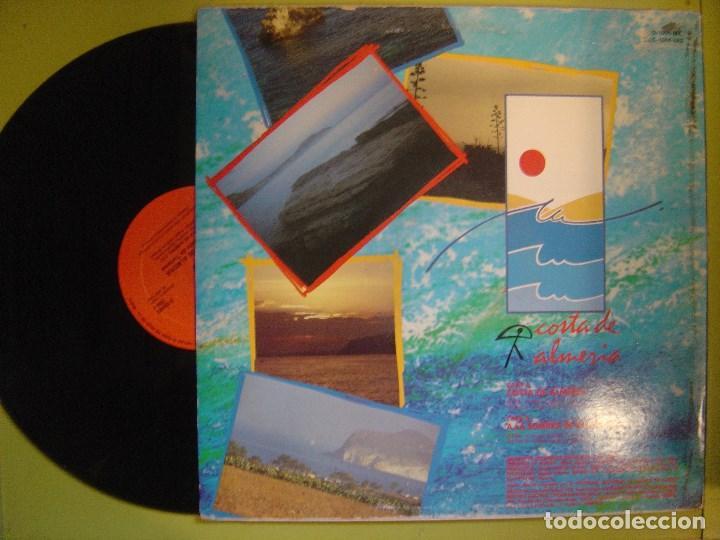 Discos de vinilo: LUIS EMILIO MAYOL CON JOSE FERNANDEZ Y FRANKLIN - costa de Almeria - MAXI 1988 CON ENCARTE- CHUMBERA - Foto 2 - 111795871