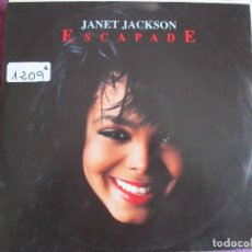 Dischi in vinile: MAXI - JANET JACKSON - ESCAPADE (SIX VERSIONS) (GERMANY, AM RECORDS 1989). Lote 111796527