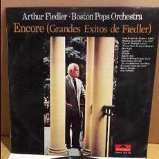 Discos de vinilo: ARTHUR FIEDLER - BOSTON POPS ORCHESTRA / ENCORE / LP / POLYDOR / MBC. ***/***. Lote 111797695