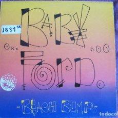 Dischi in vinile: MAXI - BABY FORD - BEACH BUMP (THREE VERSIONS) (SPAIN, DRO RECORDS 1990). Lote 111797891