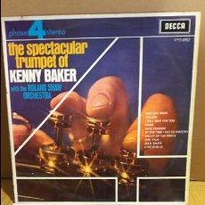Discos de vinilo: KENNY BAKER - ROLAND SHAW / THE SPECTACULAR TRUMPET / LP / DECCA-1970 / MBC. ***/***. Lote 111798419
