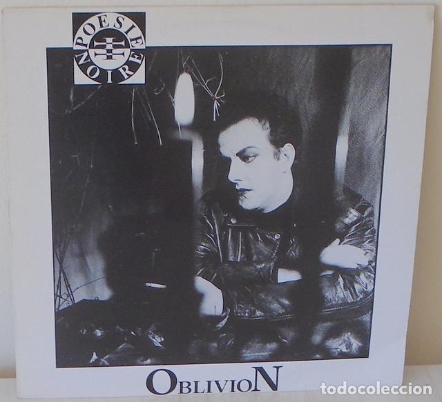 OBLIVION - POESIE NOIRE EDIC. BELGA - ANTLER SBWAY - 1989 (Música - Discos de Vinilo - Maxi Singles - Pop - Rock Internacional de los 90 a la actualidad)