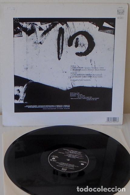 Discos de vinilo: OBLIVION - POESIE NOIRE EDIC. BELGA - ANTLER SBWAY - 1989 - Foto 2 - 111801851