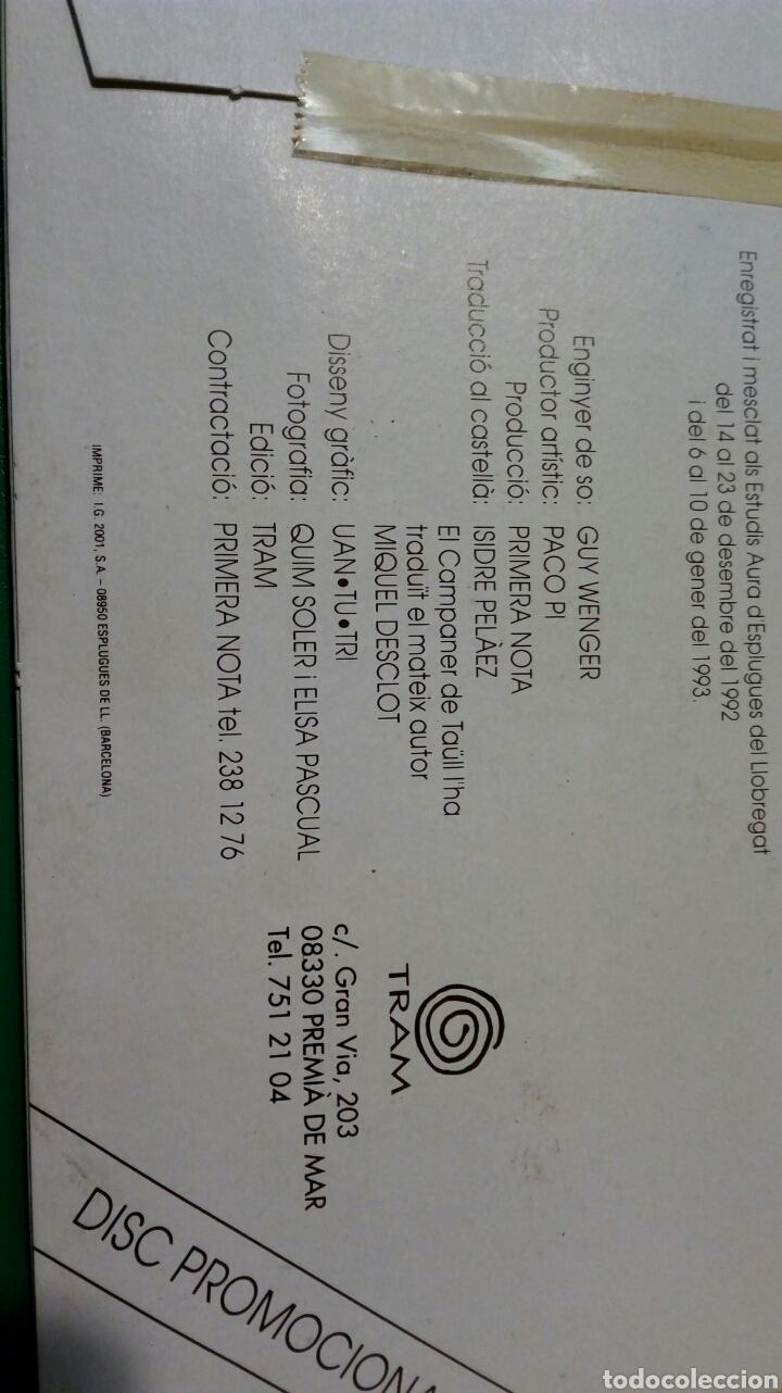 Discos de vinilo: PRIMERA NOTA RADIO STA MARGARIDA,DE MONTBUI - Foto 4 - 111802811