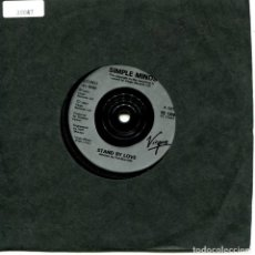 Disques de vinyle: SIMPLE MINDS / STAND BY LOVE / KING IS WHITE AND IN THE CROW (SINGLE 1991). Lote 111808635